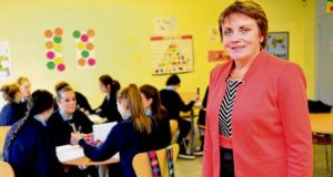Mary Daly, principal of St Dominic's, a DEIS secondary school in Ballyfermot, Dublin. photograph: bryan o'brien