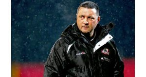 Edinburgh head coach Michael Bradley to leave in the summer after a disappointing run of defeats