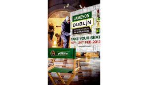 "The Jameson advertisements invite viewers to ""get closer to great movies"""