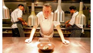 Ross Lewis, chef patron of Chapter One restaurant in Dublin, has used molecular gastronomy techniques in his kitchen. Photograph: Alan Betson