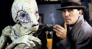 Cooking the books: Peter Weller in Cronenberg's Naked Lunch