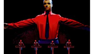 Simply the best: Kraftwerk on stage at London's Tate Modern last week