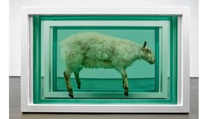 Away From the Flock, Divided by Damien Hirst sold for €2.2 million
