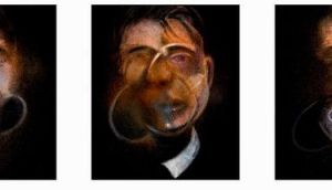 Three Studies For A Self-Portrait by Francis Bacon sold for €15.9 million at Sotheby's on Tuesday