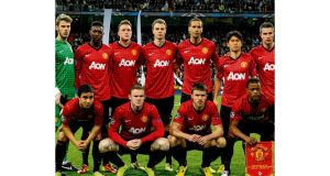 The Manchester United side that started in Madrid. Ferguson says he could have fielded another 11 and got the same result.