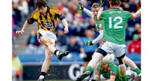 Crossmaglen Rangers' Jamie Clarke scores a goal against St Brigid's of Roscommon during the 2011 All-Ireland senior club championship final at Croke Park.