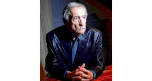 Biblical: Edward Albee. photograph: chester higgins jnr/new york times