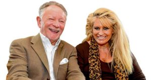 Phil Coulter and his wife, Geraldine Branagan: working together in a new show. photograph: DAVE SLEATOR