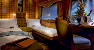 Your cabin awaits on the Orient Express