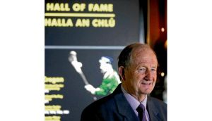 Limerick hurling legend Eamon Cregan after he was inducted into the Hall of Fame in the GAA Museum at Croke Park last week. photograph: cathal noonan/inpho