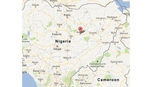 Gunmen kidnapped seven foreigners and killed a security guard when they stormed a compound in Bauchi state in Nigeria today. Image: Google Maps.