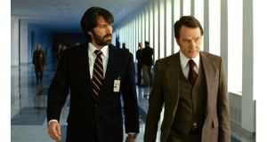 Ben Affleck (left) and Bryan Cranston in Argo.