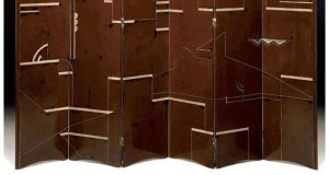 An Eileen Gray-made wooden screen, used as an apartment room divider, sold at auction in New York for more than $1.8 million last September.