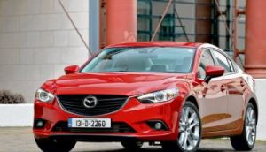 The Mazda 6 is impressively nimble for its size