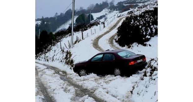 Safe driving on the ice and snow