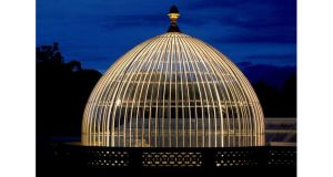 The domed roof of the restored conservatory. PHOTOGRAPH: VIBSE DUNLEATH