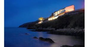 The Clife House Hotel, Co Waterford: a dramatic setting for couples with love on their mind.
