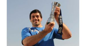 Italy's Andrea Masi wins 2011 RBS Six Nations Player of the Championship award