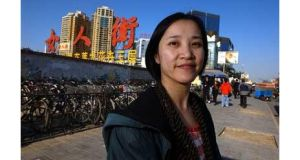 Irish links: Betty Liao, born in Beijing and a University College Galway graduate, now lives in Beijing, working for Irish company Infocell.