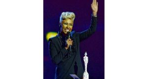 Emeli Sandé who won the British Female Solo Artist