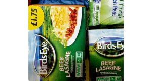 "Birds Eye confirmed that its lasagne ready meal was one of three products being recalled ""as a precautionary measure"". photograph: neil hall/reuters"