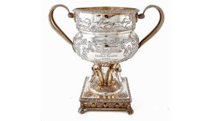 The Pimlico Cup silver trophy