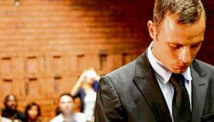 Bailed: Oscar Pistorius in court this week