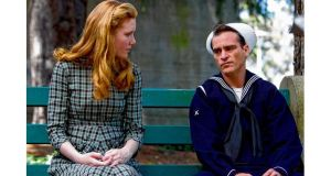 Amy Adams and Joaquin Phoenix in The Master