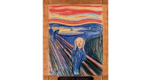 Touch of melancholy: the 1895 version of Edvard Munch's The Scream