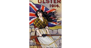 Ulster eras: a first World War postcard. photographs: bert hardy/picture post, bob thomas/popperfoto