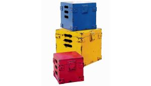 Primary coloured storage boxes, €187, Next