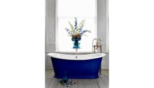 Colour block your bathroom: Le Bain de Bateau painted bath by Tipperary man Tony O'Donnell, who runs UK foundry Catchpole Rye (Crye.co.uk). This costs €5,965 (£5,000) Delivery to Ireland is additional