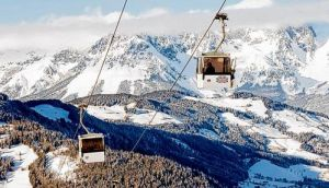 Room on the slopes to show off your moves. photograph: getty images