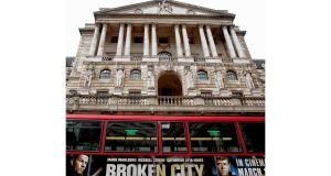 The Bank of England holds a third of the UK's £1 trillion national debt. Photograph: Reuters/Neil Hall