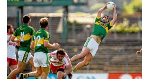 Páraic Duffy's report was trenchant when addressing the proposed reforms of the FRC which includes protecting the art of the high catch, as displayed here by Kerry's Bryan Sheehan.