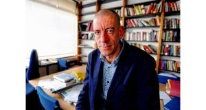 Serious concerns: Diarmaid Ferriter in his office at UCD. photograph: dave meehan