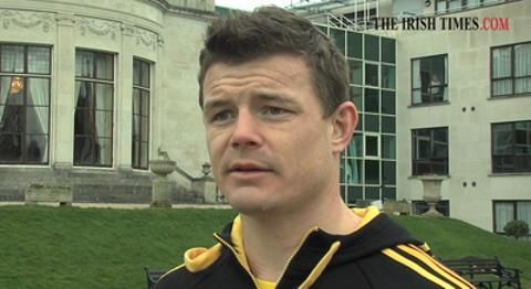 Ireland centre Brian O'Driscoll says it's not all doom and gloom in the Ireland camp after the defeat to Scotland but that 
