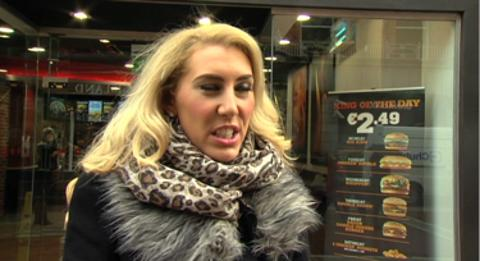 People are asked in Dublin whether their attitude to burger products has changed after the horse DNA adulteration scandal