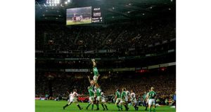 Motion three proposes making Croke Park available for matches in the 2023 or 2027 Rugby World Cups if either event is staged in Ireland. photograph: cyril byrne