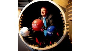 Prof Mark Ferguson of Science Foundation Ireland at Dublin's Science Gallery, announcing the details of the seven new research centres