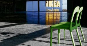 Ikea Ireland's profit more than halved to €2.4 million for the 12 months to August 31st. photograph: dara mac donaill