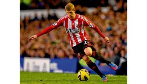 Sunderland's James McClean in action. Photographs: Getty and Inpho