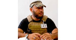 Mehdi al-Harati, who formed a brigade in Syria. photographs: alan betson and giulio petrocco