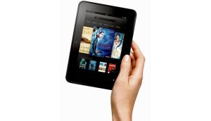 Branching out: Amazon's Kindle Fire HD is a combined colour ereader and tablet