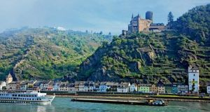 Cruise ships take the scenic route on the Rhine