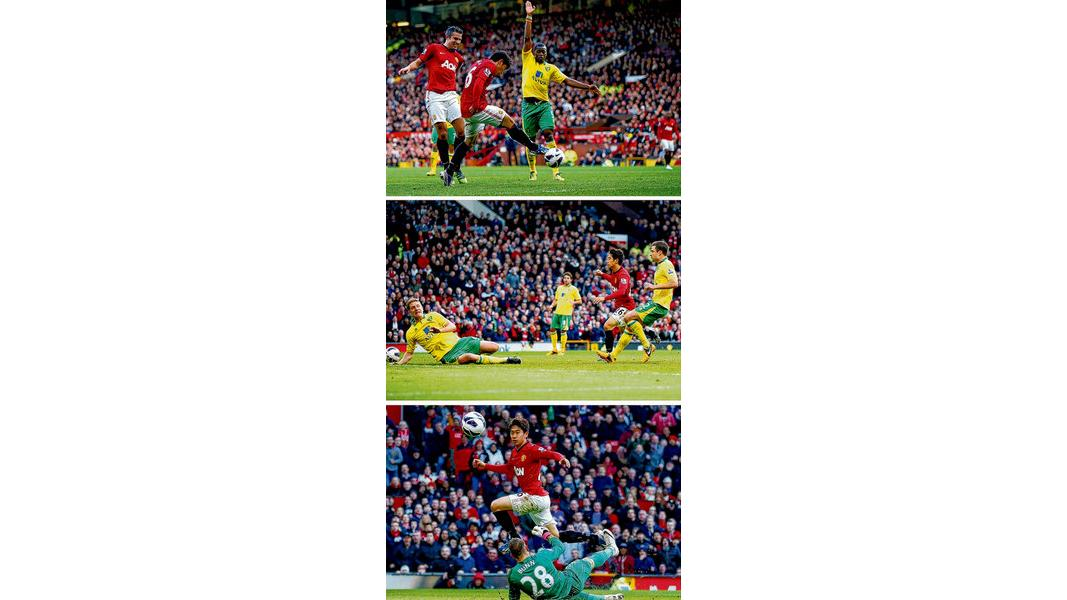 428533a4f United s rising son shows slick finishing skill in Norwich win