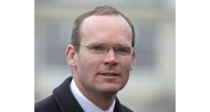Minister for Agriculture Simon Coveney: no difficulties in Cabinet on means tests