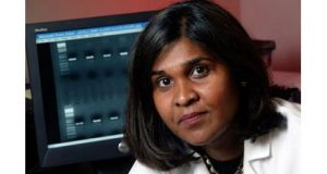 Dr. Deborah Persaud, a virologist at Johns Hopkins  Children's Center in Baltimore, Maryland. Photograph: Reuters