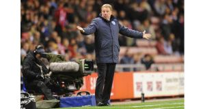 QPR manager Harry Redknapp. Photograph: Owen Humphreys/PA Wire