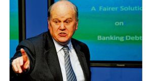 Michael Noonan added to the achievement on the promissory note deal by securing a commitment from fellow EU ministers to an extension to the maturities of its bailout loans
